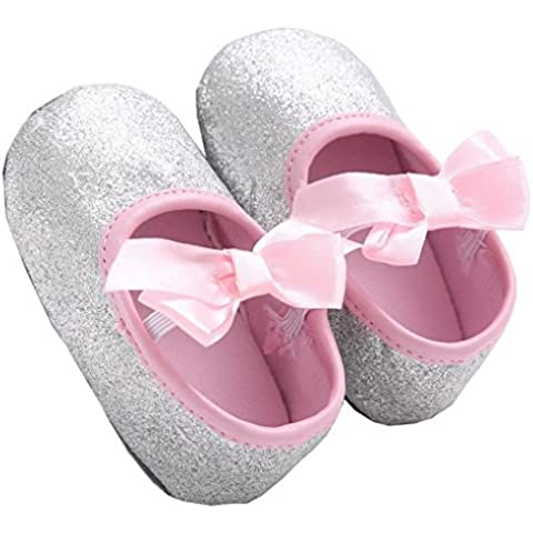 Paio Calzature Confortevoli per Bambina Bambine da 0 a 12 mesi Scarpe di Tessuto