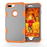 DENDICO Coque iPhone 7 Plus Coque iPhone 8 Plus, Hybride 3 en 1 Anti Rayures Anti...
