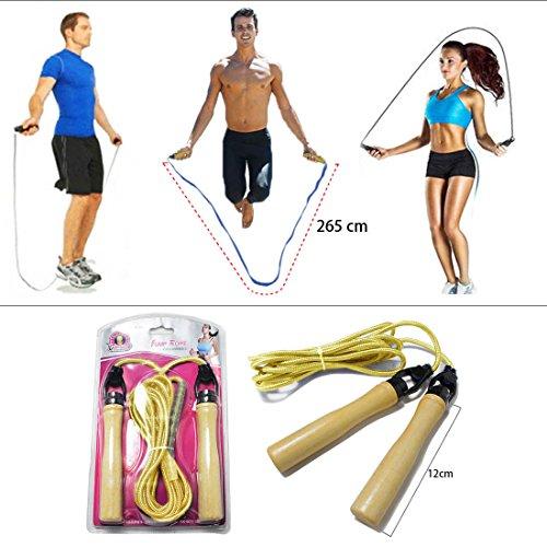 GoKi_JJOnlineStore-Corda da salto per esercizi Fitness, boxe, peso per aerobica, palestra, ecc., per interni ed esterni