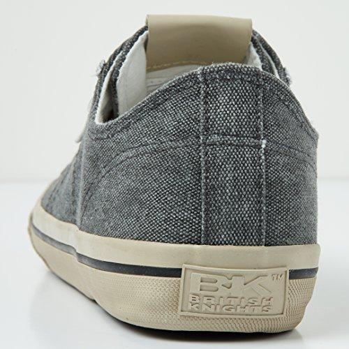 British Knights Chase Uomini Bassa Sneakers Grigio scuro