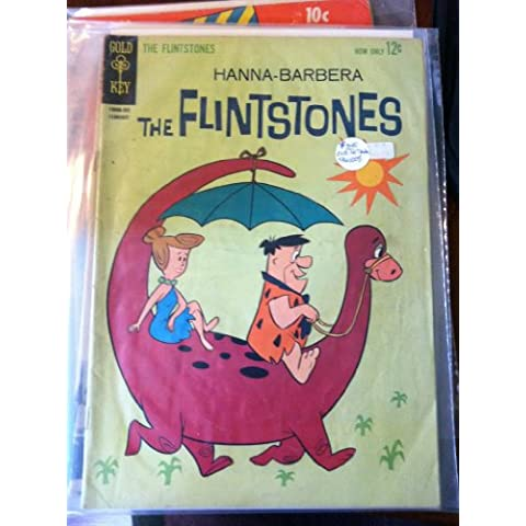 The Flintstones Gold Key #9 1963 Hanna-Barbera