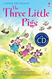 The Three Little Pigs. Book + CD: Usborne English (First Reading Series 3)