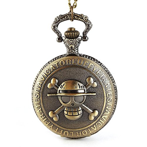Yesurprise 046968–Reloj de bolsillo, correa de acero inoxidable