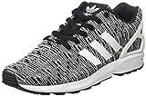 adidas Herren ZX Flux Sneaker, Schwarz (Core Black Footwear White), 45 1/3 EU
