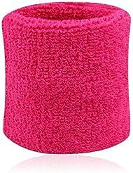 Bandage de poignet support pour sport-Rose vif