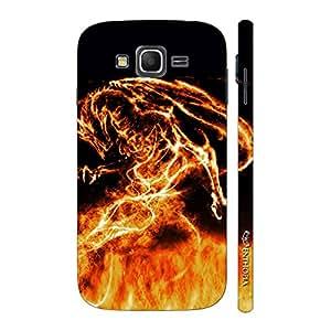 Enthopia Designer Hardshell Case Firey Dragon Back Cover for Samsung Galaxy J3 (2016)