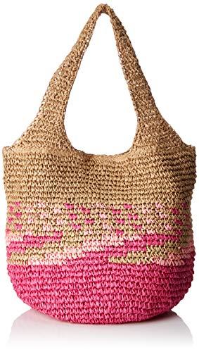 Esprit Accessoires Damen Ruth Shopper Schultertasche, Pink (Pink Fuchsia), 23x34x31 cm