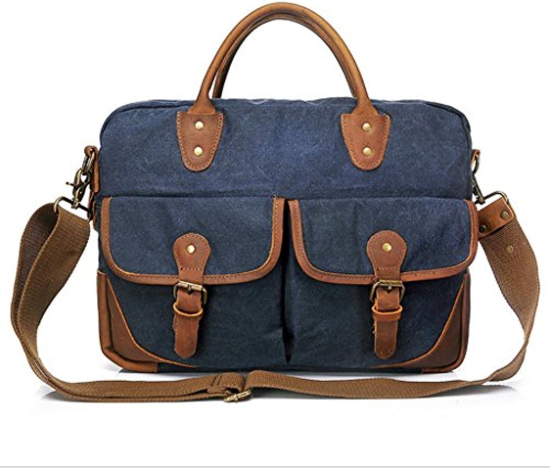 Sac Sucastle Casual Messenger sac de toile sac Couleur: à bandoulière sac à main Sucastle Couleur: sac bleu Taille: 41x30x11cmB073BFFF9FParent aa481b