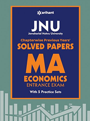 JNU M.A. Economics Chapterwise Previous Year Solved Papers