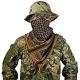 OneTigris - Pañuelo palestino de algodón, kufiyya para cubrir la cabeza durante...