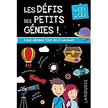 Les Défis des Petits Genies, du CE1 au CE2 - Cahier de vacances