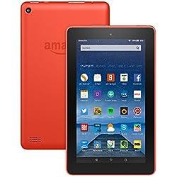 Fire-Tablet, 17,7 cm (7 Zoll) Display, WLAN, 8 GB (Orange) - mit Spezialangeboten