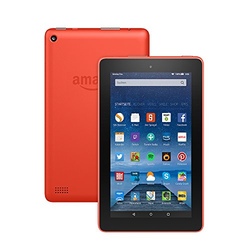 Fire-Tablet, 17,7 cm (7 Zoll) Display, WLAN, 8 GB (Orange) - mit Spezialangeboten