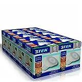 BTEK® 10er GU10 6W LED Kaltweiß Beleuchtung Leuchtmittel Lampen AC 230V 50 Hz 480LM 40W Punktlicht-Hochleistungs lampen Energiespar Abstrahlwinkel 120º