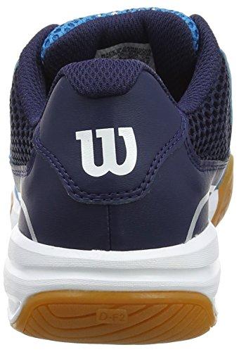 Wilson Unisex-Erwachsene Storm Hawaiian Tennisschuhe Blau (Hawaiian Ocean/Navy/White)