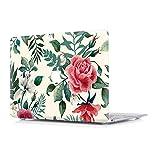 RQTX Hülle Für Apple MacBook Air (Old) 13,3 Zoll Modell A1466/A1369 Laptop Computer Zubehör Plastik Muster Druck Schutz Hart Cover Tasche,Flower B
