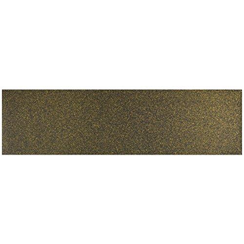 Black Diamond 9x33 Gold Glitter (Single Sheet) (Diamond Supply Skateboard)