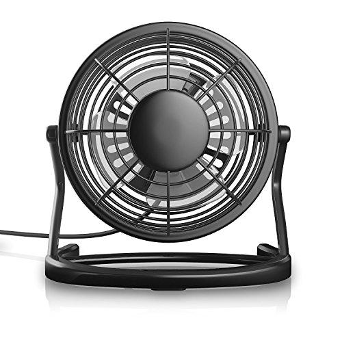 Hqdeal Powerful Mini Fan Usb Desk Fan Table Cooling Fan