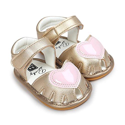 Krabbelschuhe Sandalen, Chickwin mädchen baby Weiche Alleinige Kleinkind Schuhe Krabbelschuhe 6-18 Monate C