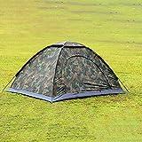 Banbie8409 Tente Pliante de Camouflage pour Tente de Camping en Plein air Portable pour la randonnée (Camouflage)