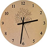 Azeeda 275mm 'Obstbaum' Große MDF-Uhr (CK00003504)