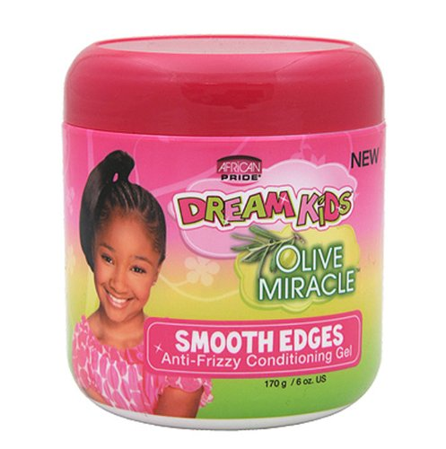 AFRiCAN PRIDE DREAM KIDS SMOOTH EDGES Anti-Frizzy 6oz -