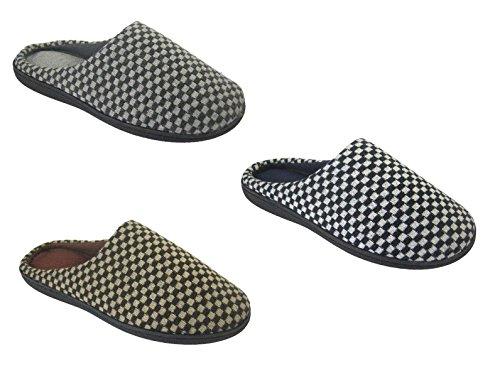 Hommes Coolers Mule sabot pantoufles léger avec semelles rembourrées tailles 41 - 46 EU