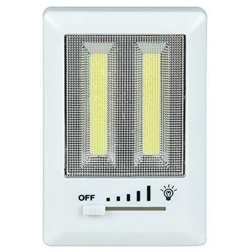 ASAB COB Interruptor de luz LED Deslizante Super Brillante portátil lámpara de...