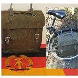 LAGERMAULWURF.de NVA Taschen 2 Stk Satteltaschen Moped Fahrrad Sturmgepäck Tragegestell