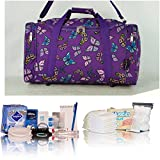 Purple butterflies Essentials pre-packed maternity/hospital bag/holdall for Mum & Baby NEXT WORKING DAY* AVAILABLE (order by midday)