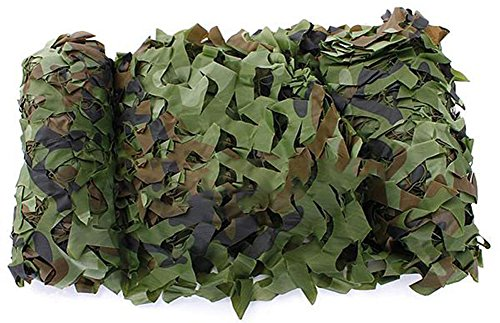 SaySure - 5M x 1.5M Outdoor Sun Shelter Net CAMOUFLAGE