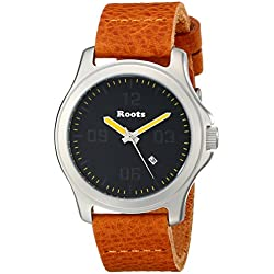 Roots Men's 1R-LF400BA2C Mowat Analog Display Japanese Quartz Orange Watch