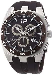 Festina Herren-Armbanduhr XL Sport Chronograph Quarz Kautschuk F16668/3