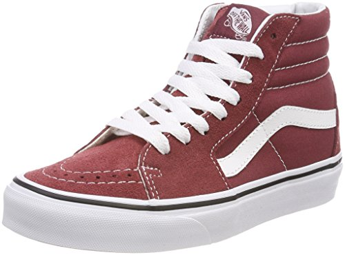 Vans Sk8-hi, Zapatillas Altas Unisex Adulto, Rojo (Apple Butter/True White Q9s), 40 EU