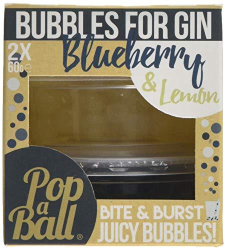 Burbujas POPABALL Doble Tarro De arándano azul limon