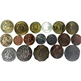Novelty Collections-18 African Countries Coins (All UNC)
