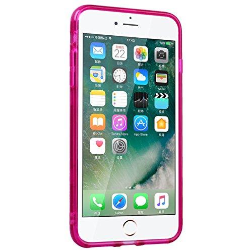 WE LOVE CASE Coque iPhone 7, Coque de Protection en Premium Hard Plastique Mince Clair Dur Coque iPhone 7 Anti Choc Bumper, Anti-Rayures Anti-dérapante Coque Apple iPhone 7 Wildbell Éléphant