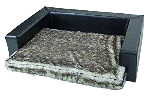 hundeinfo24.de Kerbl 84987 Couch Monaco 77 x 50 x 20 cm