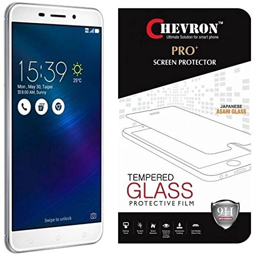 Chevron Amazing PRO+ 0.3 mm 2.5D 9H Hardness Anti-Explosion Tempered Glass Phone Screen Protector For Asus Zenfone 3 Laser ZC551KL - Retail Packaging - Transparent