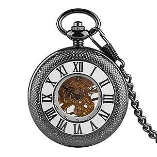 Rmische-Ziffern-fr-Herren-Taschenuhr-goldenes-Skelett-mechanische-Taschenuhren-Sohn-Papa