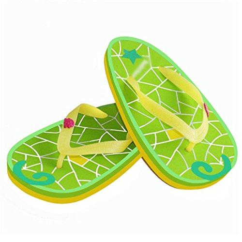 Yiiquan Tongs Fruit Impression Sandales Femmes Talon Plat Flip Flops Slippers Style 5