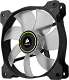 Corsair SP120 LED Ventilateur de Boitier, 120mm, Vert LED (Single Pack)