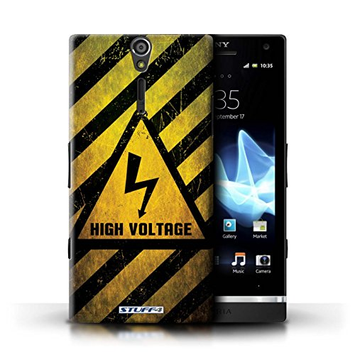 Coque de Stuff4 / Coque pour Sony Xperia S/LT26i / Bruit/Musique Design / Signes de Danger Collection électricité