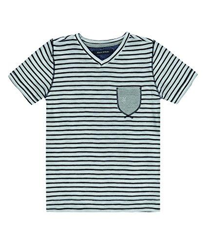 Marc O`Polo T-Shirt 1/4 Arm Größe: 98 Farbe: dunkelbraun