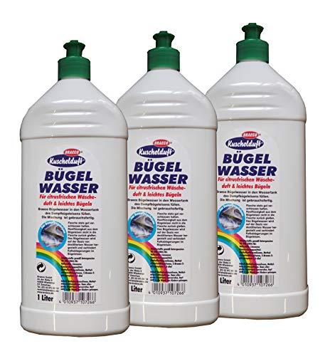 3 x Kuschelduft Bügelwasser Citrusfrische 1l, Wäschewasser, Bügeln