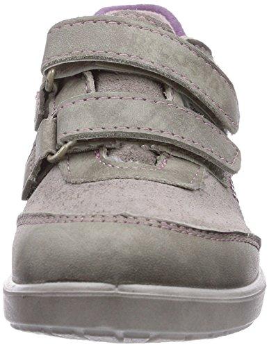 Ricosta Julie, Low-Top Sneaker bambina Beige (Beige (moor/steel 682))
