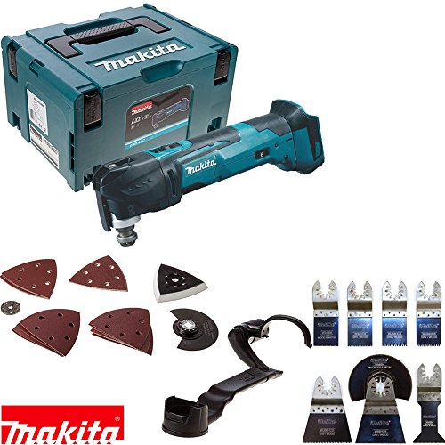 Makita DTM51ZJX7 18v Multi Tool in Makpac Case With Extra 8