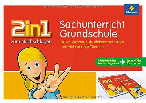 Preisvergleich Produktbild 2in1 zum Nachschlagen - Grundschule: Sachunterricht