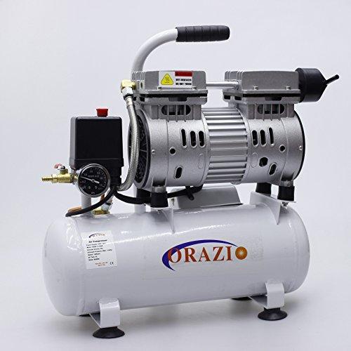 Compressore aria 65DB 600W 9L tipo silenzioso Per Garage, usato  Spedito ovunque in Italia