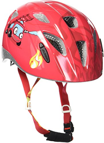 ALPINA Kinder Ximo Fahrradhelm, Firefighter, 49-54